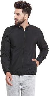 Scott International Men's Solid Wind Cheater Jacket