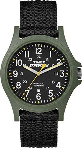 Timex Expedition TW4999800 - Reloj de Cuarzo para Hombres, Color Negro