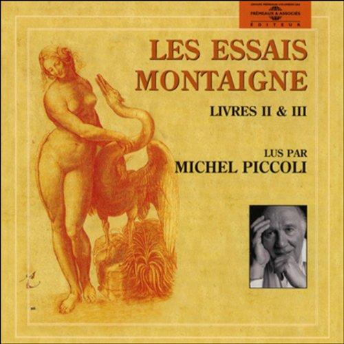 Les essais - Livre 2 et 3  audiobook cover art