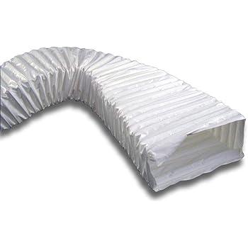 Flachkanal Kunststoff flexibel 204x60 mm L/änge 0,5 m