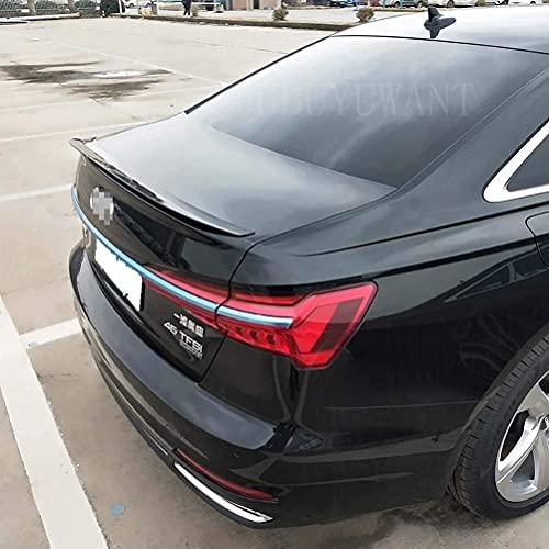 SHGE Alerón Trasero De Decoración De ala De Maletero Trasero De Coche Abs Adecuado para El Nuevo Audi A6 2019 2020