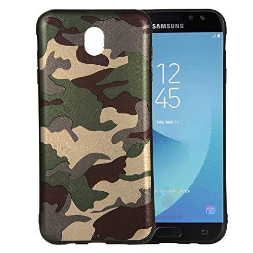 Forhouse Slim Fit Pouch Samsung Galaxy J7 (2017) J730 (European Version) Hülle Shock Absorption Phone case Defender Drop Protection Cover Bumper Hülle für Samsung Galaxy J7 (2017) J730
