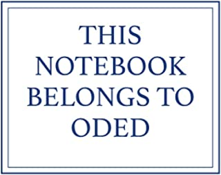 This Notebook Belongs to Oded