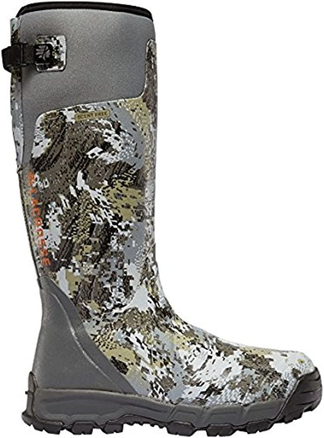 LACROSSE Alphaburly Pro 18  Height Optifade Elevated II 800G (376035) Waterproof   Insulated Modern Comfortable Hunting Combat Boot Brown