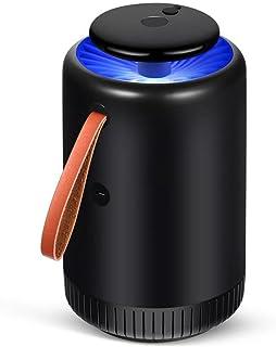 Yxsd Mosquito Killer No Tóxico Mosquito Zapper/Batería Killer Light/USB 5V Mosquito Light Insecto Inhalador De Vuelo Catcher - Negro/Blanco (Color : Black)