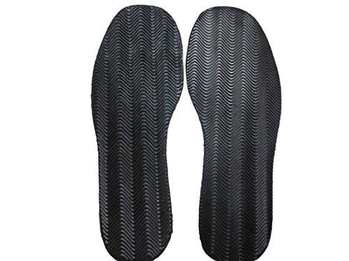 LIPOVOLT 1 Pair Anti Slip Rubber Glue on Full Soles DIY Shoes Repair Supplies