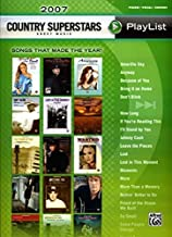 2007 Country Superstars Sheet Music Playlist: Piano/Vocal/Chords