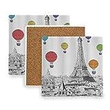 PANILUR Torre Eiffel di Parigi in Scala di Grigi e...