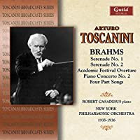 Arturo Toscanini Conducts Brahms