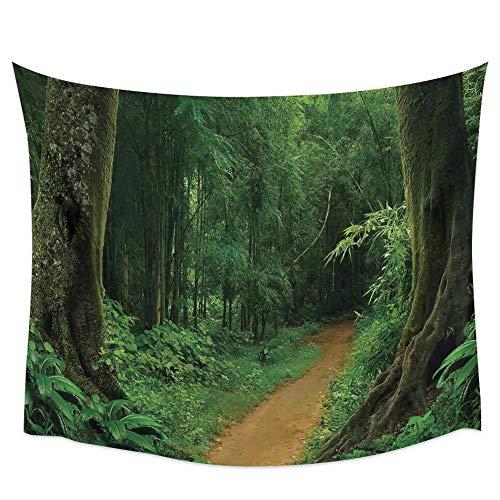 Tapiz de pared de paisaje de Anime, toalla de playa, tela de pared de Picnic, tela de fondo, decoración de interiores A3 73x95cm