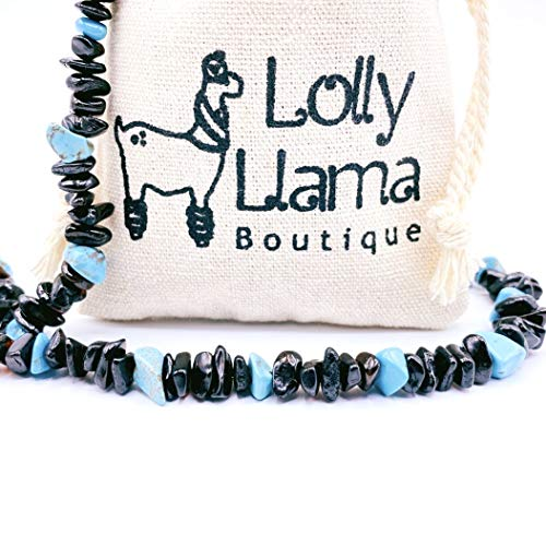 Lolly Llama Genuine Amber Necklace for Women - All Natural Pain Relief for Adults to Help Migraines, Sinus, Arthritis and More! - Dark Cherry (18 Inches)