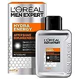 L'Oréal Paris Men Expert After Shave Balsam und Gesichtspflege für Männer, Gegen Rasurbrand, Rötungen und Irritationen, Hydra Energy, 1 x 100 ml
