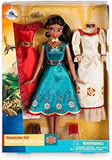 elena of avalor doll and wardrobe set