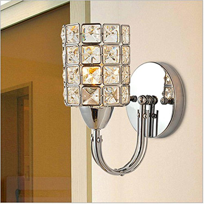 StiefelU LED Wandleuchte nach oben und unten Wandleuchten Crystal Wand Lampe Schlafzimmer Wohnzimmer Esszimmer Tisch Gang B 8018-1 w (c5bf)