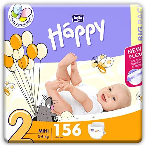 Maxi Plus Bella Baby Happy Lot de 124 couches Taille 4