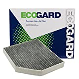 EcoGard XC36071C Premium Cabin Air Filter with Activated Carbon Odor Eliminator Fits Audi Q5 2009-2017, A4 Quattro 2009-2016, A5 Quattro 2008-2017, A4 2009-2016, S5 2008-2018, S4 2010-2018