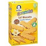 Gerber+Graduates+Lil%27+Biscuits%2c+Vanilla+Wheat%2c+4.44+OZ