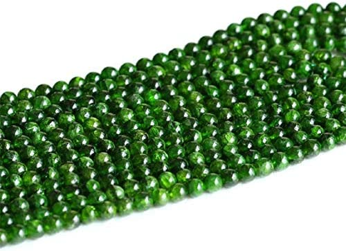 GemAbyss NEW before selling Beads Gemstone 1 Strands Natural Outlet sale feature Diopside Chrome Green
