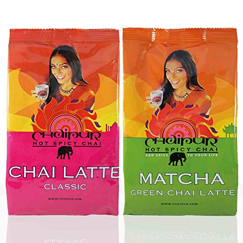Darboven Chaipur Classic 1x 500g & 1x Matcha Green Chai Latte 500g Instant Tee