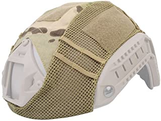 DLP Tactical Helmet Cover Compatible with MICH, OPS-Core Fast and Similar Combat Helmets