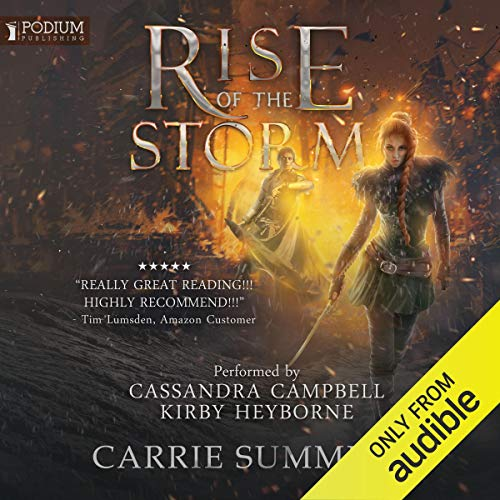 Rise of the Storm audiobook cover art