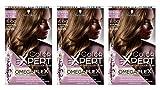 Schwarzkopf Color Expert Omegaplex - Tinte para el cabello, color marrón claro, 3 unidades