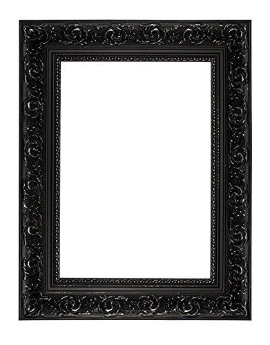 Memory Box Wide Barock Range Cadre Photo avec Verre véritable Noir 30 x 40 cm