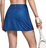 TSLA Falda de tenis para mujer Active Athletic con bolsillos