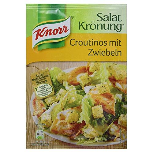 Knorr Salatkrönung Croutinos mit Zwiebeln, 25 g