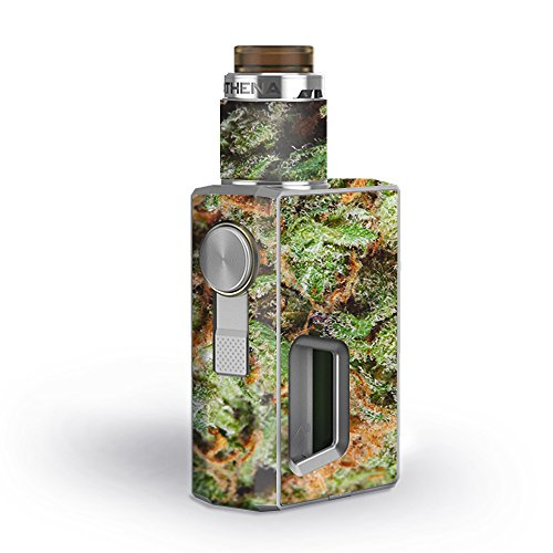 Skin Decal Vinyl Wrap for GeekVape Athena Squonk Kit Vape Kit skins stickers cover / Nug Bud Weed Maijuana