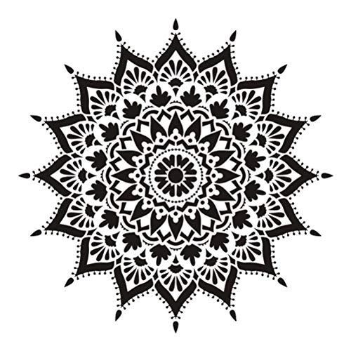 Jinpings prijzenswaardige grootte DIY Craft Layering Mandala sjabloon voor muurschildering Scrapbooking stempelen album decoratieve reliëf papier kaart 3