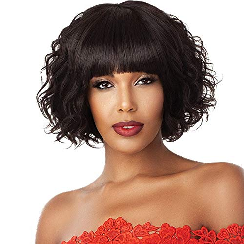 Outre 100% Unprocessed Human Hair Fab & Fly Full Cap Wig - HH-BETSY (NBLK)