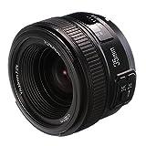 YONGNUO Lente de gran apertura F2.0 de 35 mm para cámaras Nikon DSLR