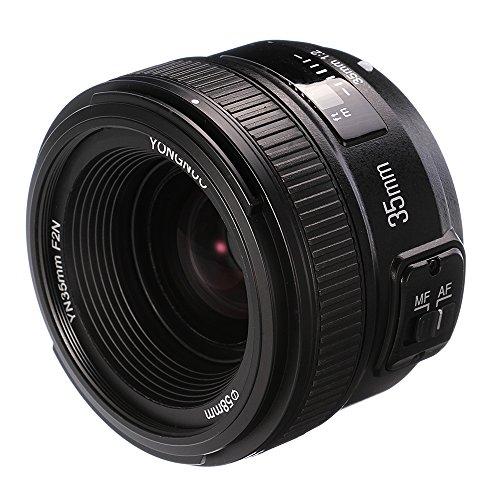 YONGNUO 35 mm F2.0 Objektiv große Blende Autofokus AF Objektive für Nikon DSLR-Kameras