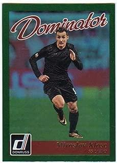 2016 Donruss Dominators Holographic #42 Miroslav Klose SS Lazio Soccer Card
