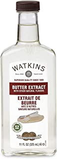 Watkins Butter Extract with Other Natural Flavors, 11 oz. Bottle, 1 Count (Packaging May Vary)