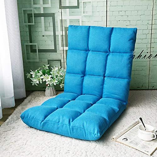IGOSAIT Silla plegable multifunción suave sofá recreativo, silla de elevación de cena, silla de salón, cama plegable reclinable (color: E)