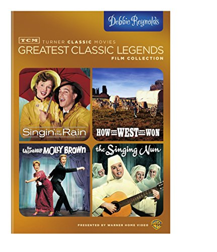 TCM - Debbie Reynolds [Singin' in the Rain / How the West Was Won / the Unsinkable Molly Brown / the Singing Nun]