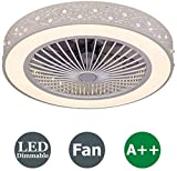 LED Ceiling Fan with Lighting,Modern Ceiling Lamp ,Remote Control Dimmable Ceiling Light 3