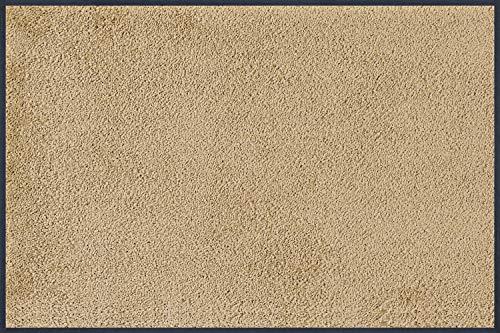 wash+dry Fußmatte Sahara, 60x90 cm, innen und außen, waschbar, sand