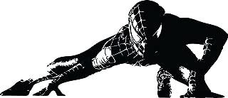 silhouette spiderman