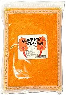 綿菓子用 カラーザラメ 1kg入 マンゴー