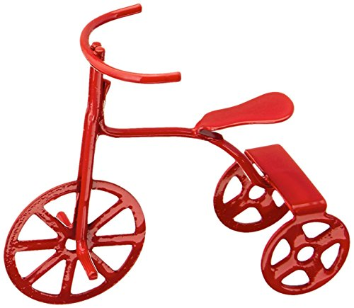 Darice 2318–81 Tricycle Miniature Rouge