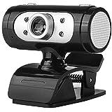 LMDH Webcam, HD Webcam avec Microphone for Streaming, Caméra Web USB Ordinateur Pro Video Cam