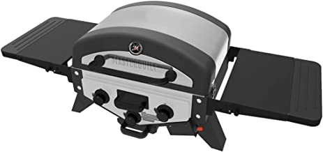 Masterbuilt MB20030519 MPG 300S Tabletop Gas Grill, Stainless (Newer Version)