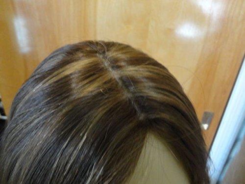 NEW Malky European Wig Sheitel Multidirectional Human Hair Medium Brown 10-6-8 S