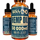 TeddyDo Hemp Oil for Dogs, Cats and Pets - Natural Organic Remedy for Arthritis and Pain Relief |...