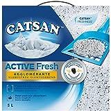 CATSAN - Litière Active Fresh pour Chat 5L - Lot De 2 - Livraison Rapide en France - Prix par Lot