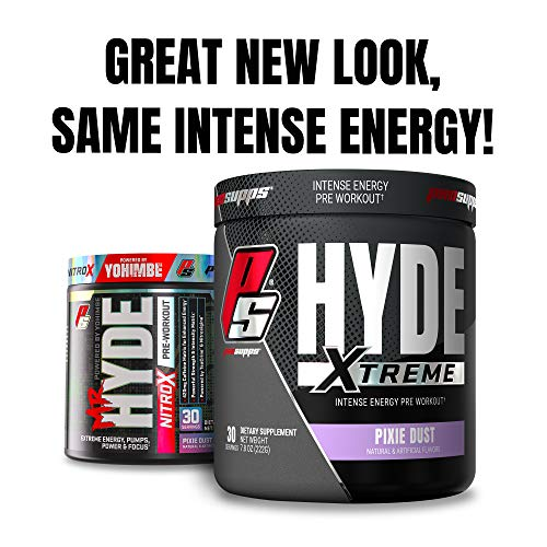 ProSupps® Mr. Hyde® Xtreme (Former NitroX) Pre-Workout Powder Energy Drink - Intense Sustained...