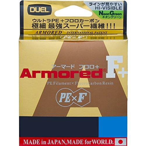 DUEL(デュエル) PEライン 0.4号 アーマード F+ 150M 0.4号 GY ゴールデンイエロー H4005-GY